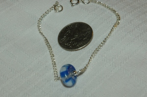 single bead bracelet