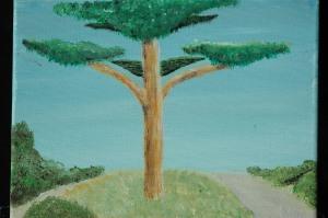 Tree Along the Path