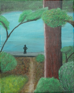 girl with tree 003
